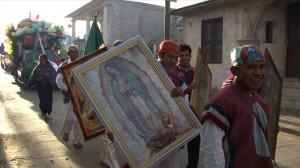Los pies de Guadalupe